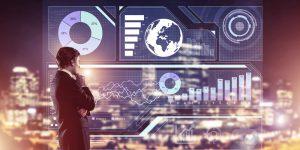 Digital analytics dashboard, virtual dashboard overview
